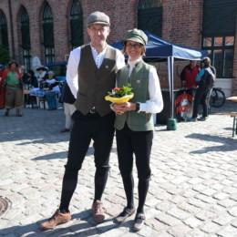 Mit meiner Frau Svea bei der Velo Classico.